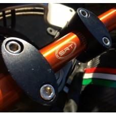 Handlebar Ergal bends lower 22/28 mm SRT for naked bikes
