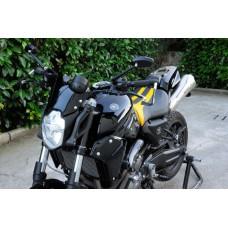 Handlebar Ergal average bends 22 mm SRT for naked bikes