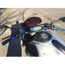 Handlebar Ergal bends low 22 mm SRT for naked bikes