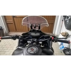 Handlebar Ergal bends high 22 mm SRT for naked bikes