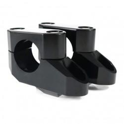 Handlebar risers move back 28 mm
