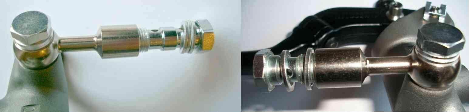 adattatore pompa radiale