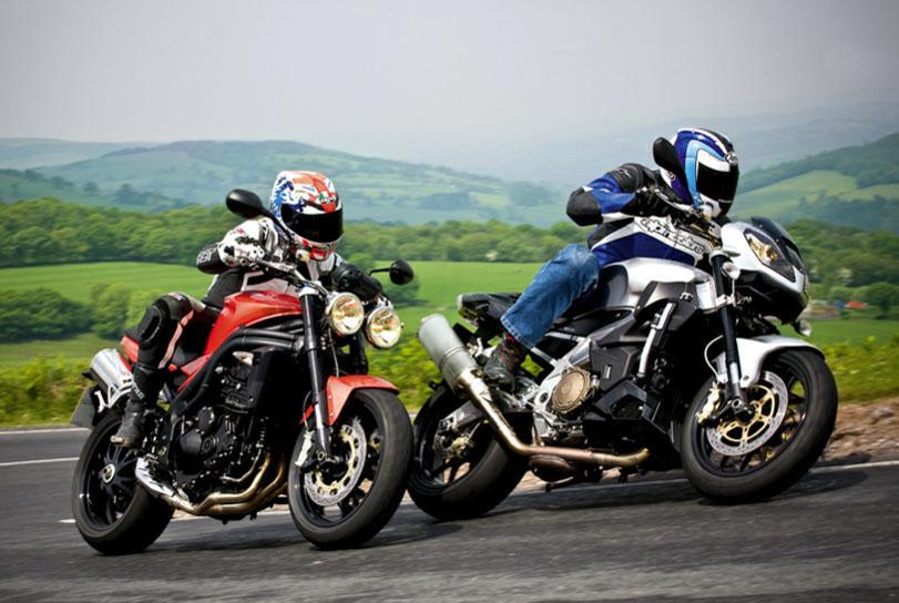 come piegare in moto