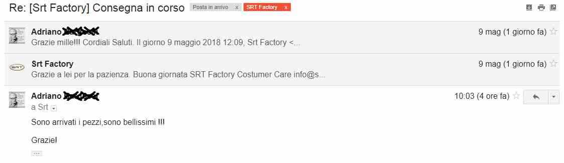 recensione srt factory
