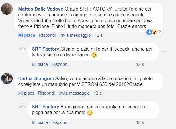 feedback srt factory